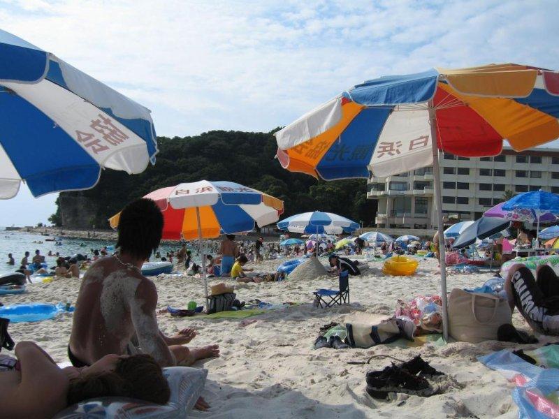 Shirahama Weekday in August