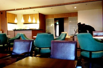 <p>The club lounge is a peaceful haven especially during business hours</p>