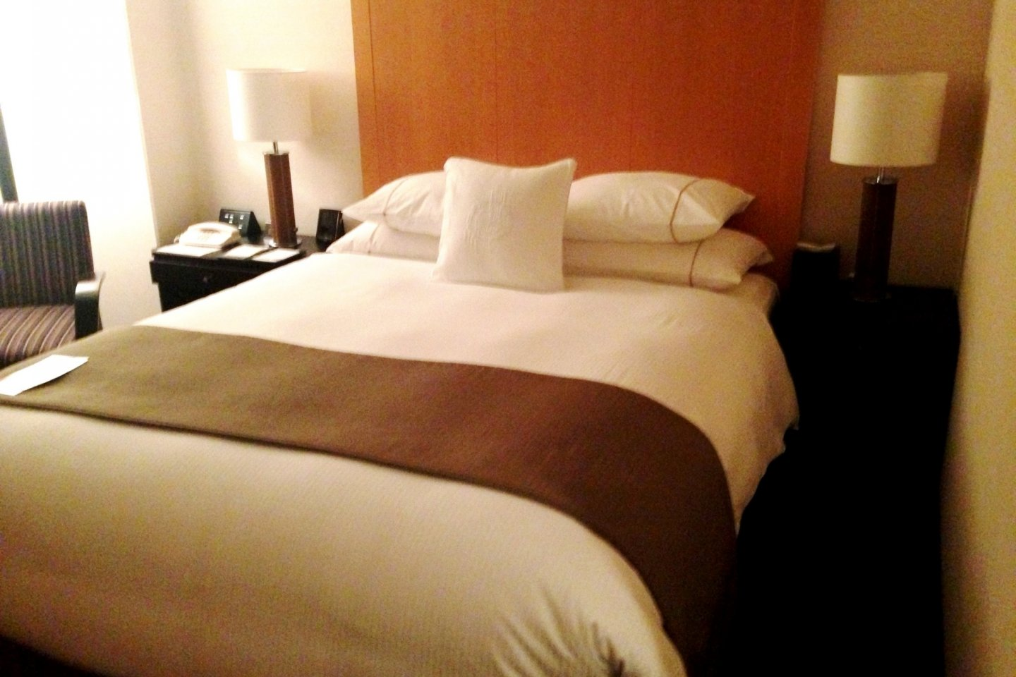 Even Single Rooms are spacious at the Sheraton Miyako Hotel