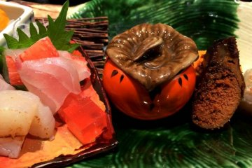 <p>Amazing Kaiseki meals are a feast for the eyes as well</p>