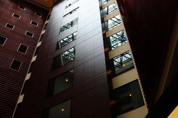 <p>View from the atrium lounge&nbsp;</p>