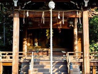 Один из маленьких храмов внутри большого