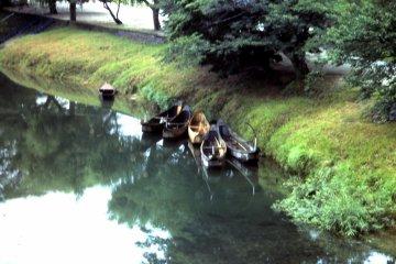Традиционные рыболовные лодки