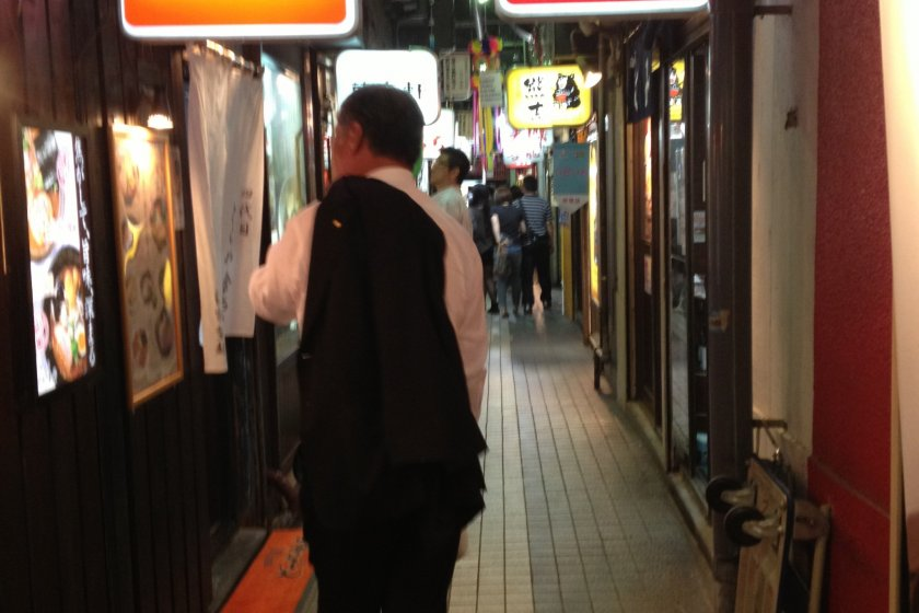 ตรอกราเมงเก่า Ramen Yokocho