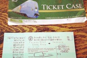 ตั๋วรถไฟ Furano Biei Round Tour Ticket 5,400 เยน ใช้ได้ 4 วัน
