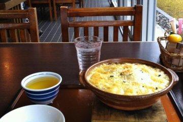 Mori no Mado restaurant in Hiyoshi