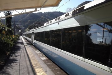 The Izu 'Resort Dolphin' train