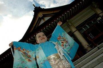 <p>7-5-3 Visit to Gokoku Shrine</p>