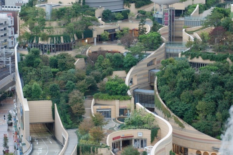 สวนนัมบะ โอซาก้า