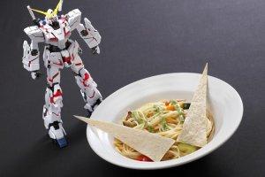 จากเมนูธรรมดาๆ ก็ดูดีขึ้นมาเมื่อจัดจานด้วยแรงบันดาลใจจาก Unicorn GUNDAM
