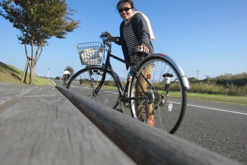 ฉันกับจักรยานคู่ใจ