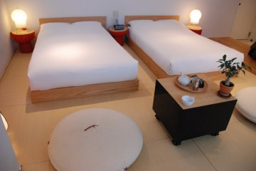 <p>The tatami rooms follow&nbsp;a traditional Japanese with a modern touch.</p>