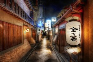 Lost in the alleyways of Kyoto