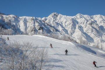 <p>Having fun on the slopes.</p>