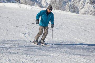 <p>Both skiing...&nbsp;</p>