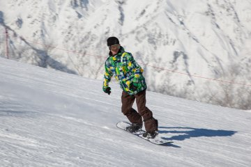 <p>... and snowboarding are available!</p>