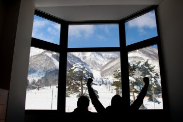 <p>Taking a relaxing break in Kai Alp&#39;s private rest room, after a long day on the slopes.&nbsp;</p>