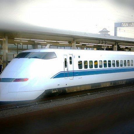 Nagoya ke Kyoto dengan Kereta