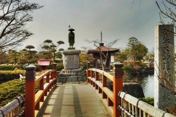 Magical waters of Jonofuchi Park
