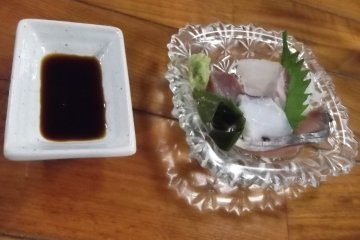 <p>ปลาดิบที่ทั้งสดทั้งอร่อยของผม</p>