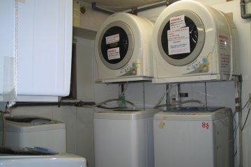 Free laundry facilities