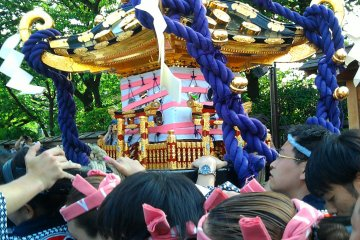 Sanja Matsuri เทศกาลแห่ศาลเจ้า