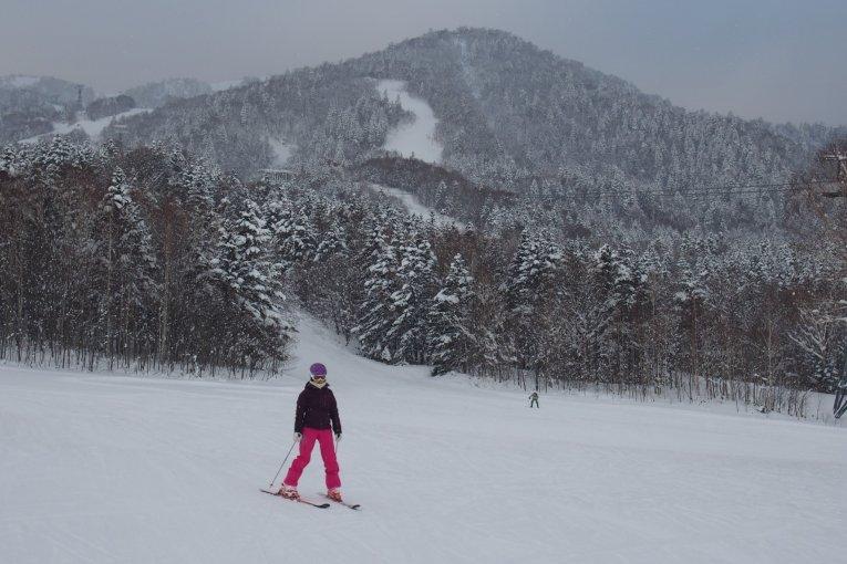 ความสุขบนหิมะ ณ ลานสกี Furano
