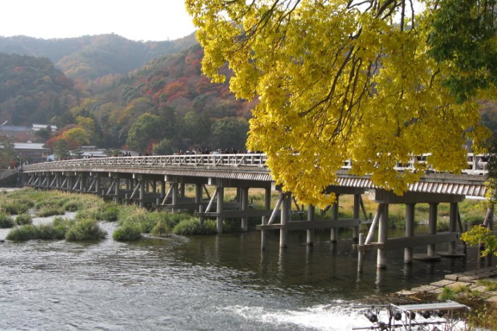 Sagano district in Kyoto