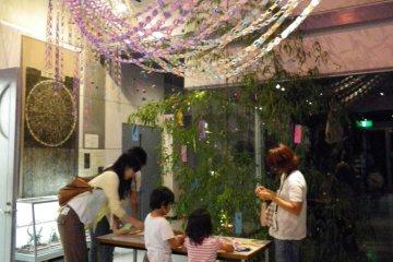 Tanabata Festival inside Bisei Observatory