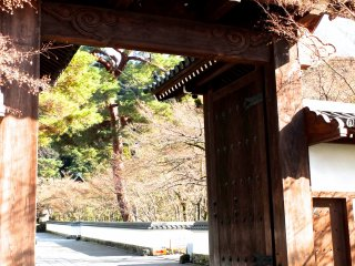 The Main Gate to Eikan-do