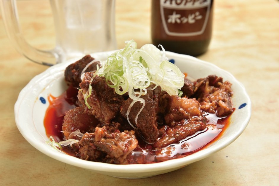 Spicy Beef Tendon Stew (¥680) (excluding tax)
