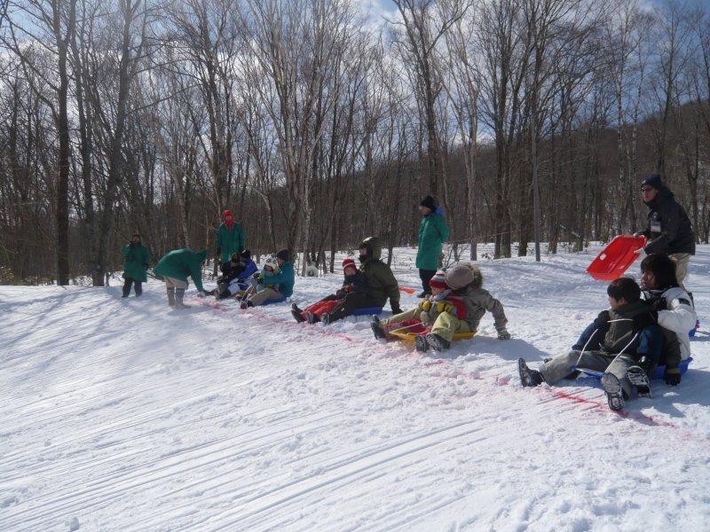 festival sledding