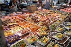 Hasshoku Center market