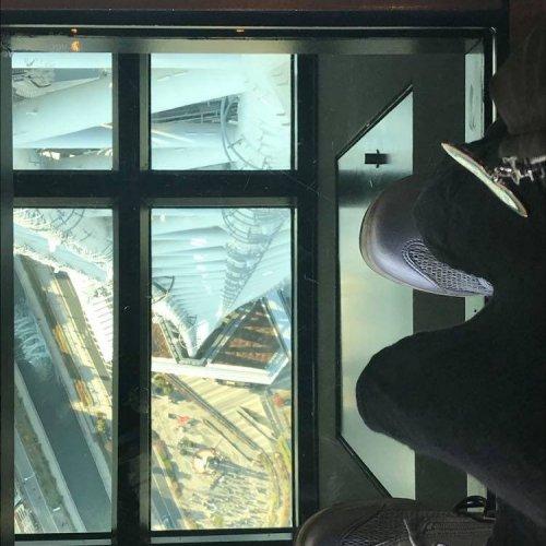 Glass Floor Viewing