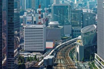 Tokyo Skyscrapers, High-Speed Shinkansen Virtual Tour